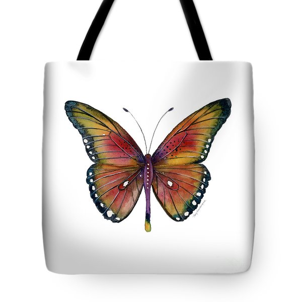 66 Spotted Wing Butterfly Tote Bag