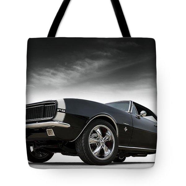 '67 Camaro Rs Tote Bag