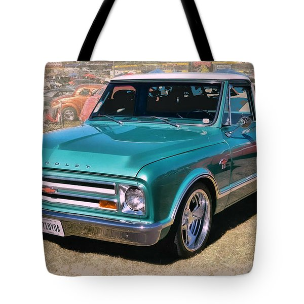 '67 Chevy Truck Tote Bag