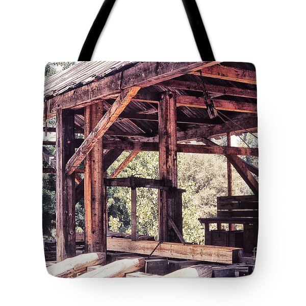 676 Sl Sutters Mill 4 Tote Bag by Chris Berry