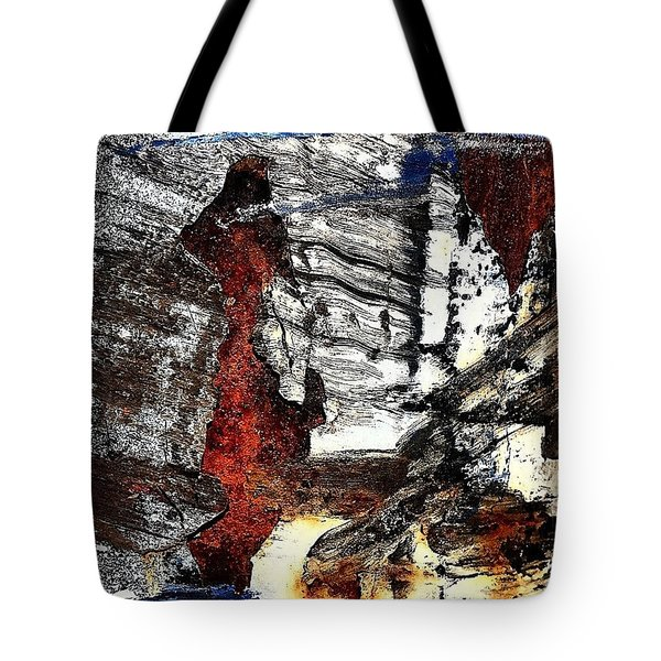 Abstract Post 4 Tote Bag