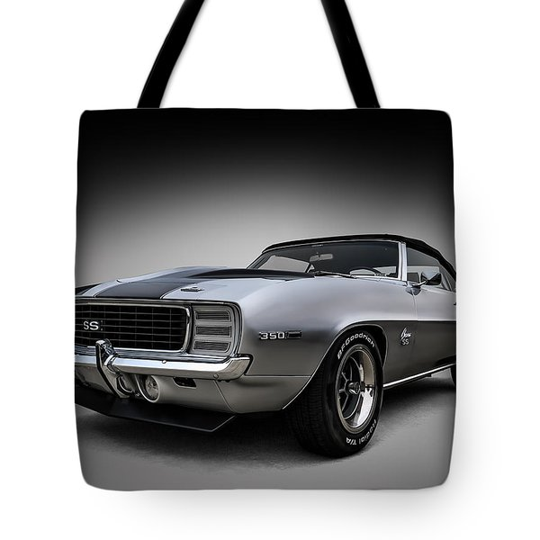 '69 Camaro Ss Tote Bag