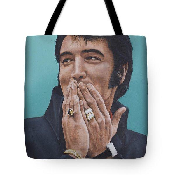 69 Press Conference Tote Bag