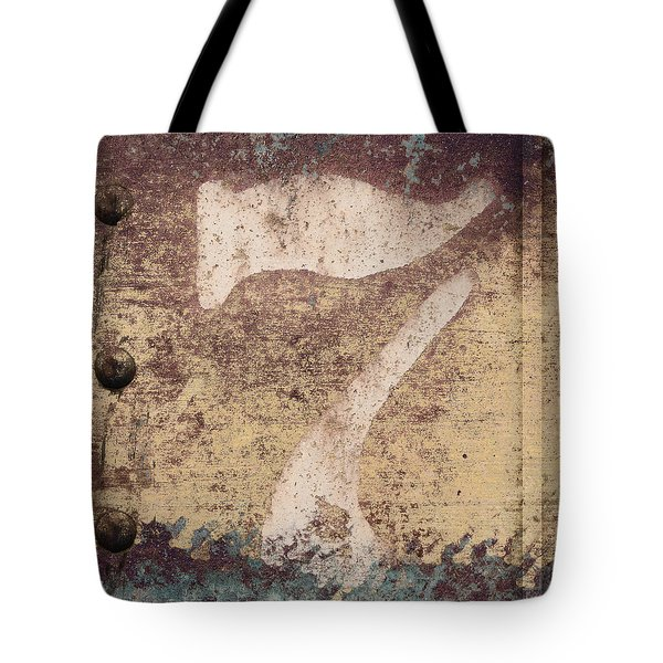 7 And Rivets Tote Bag by Carol Leigh
