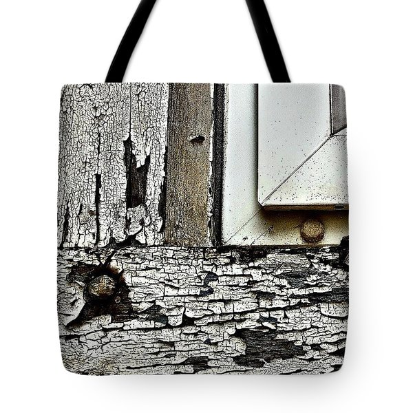 Window Frame Tote Bag