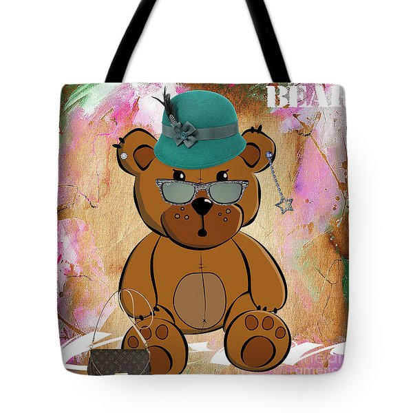 Baby Bear Collection Tote Bag by Marvin Blaine