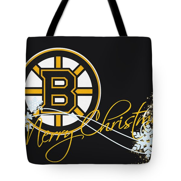 Boston Bruins Tote Bag