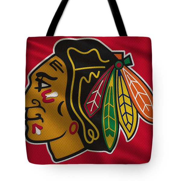 Chicago Blackhawks Uniform Tote Bag