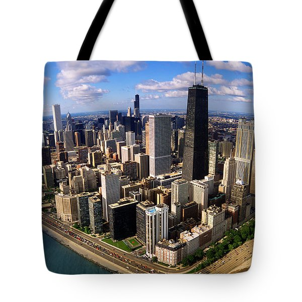 Chicago Il Tote Bag by Panoramic Images