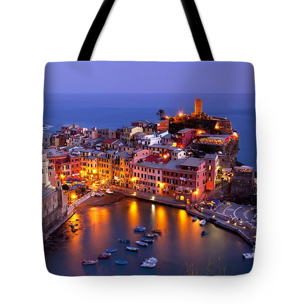 Tote Bag featuring the photograph Cinque Terre by Brian Jannsen