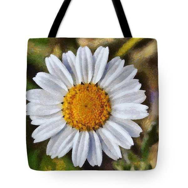 Daisy Tote Bag by George Atsametakis