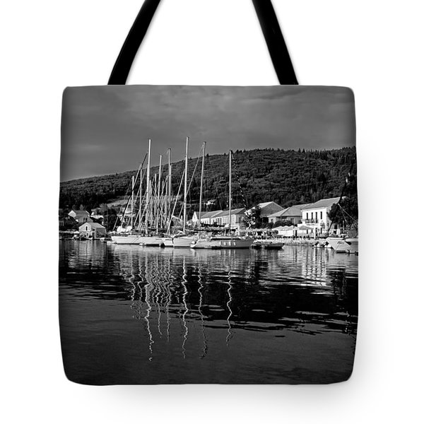 Fiskardo Village Tote Bag by George Atsametakis
