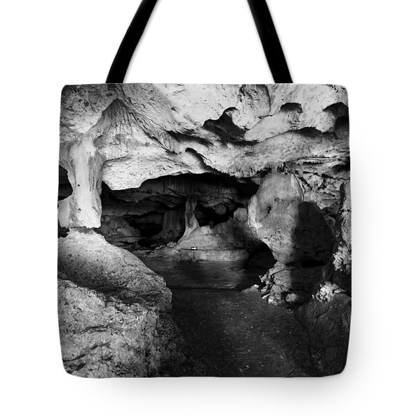 Green Grotto Caves Tote Bag by Bill Howard