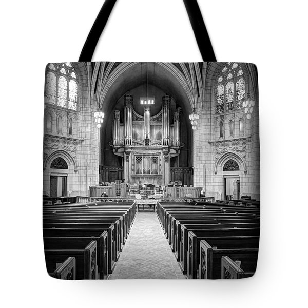 Hennepin Avenue Methodist Church Tote Bag by Amanda Stadther