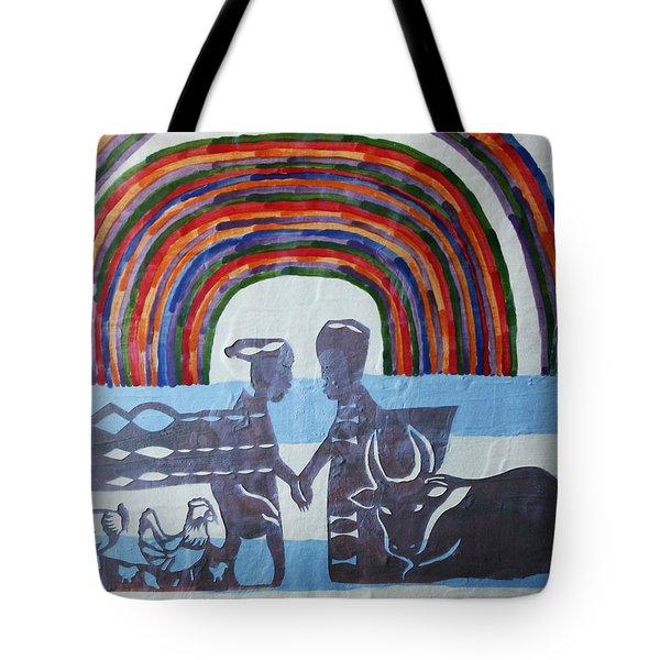 Kintu And Nambi Tote Bag by Gloria Ssali