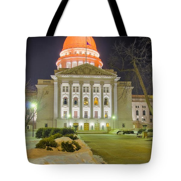 Madison Capitol Tote Bag