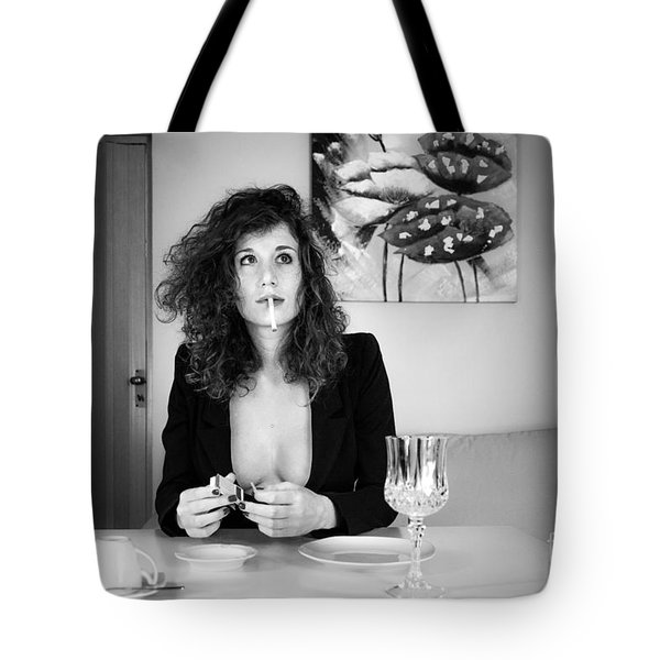 Que Nos Vies Aient L'air D'un Film Tote Bag by Traven Milovich