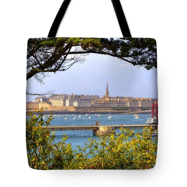 Saint-malo - Brittany Tote Bag by Joana Kruse