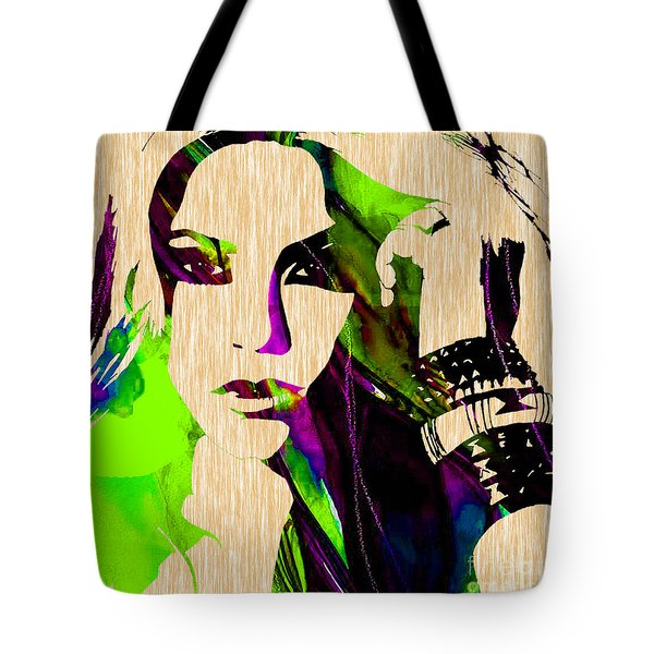 Shakira Collection Tote Bag by Marvin Blaine