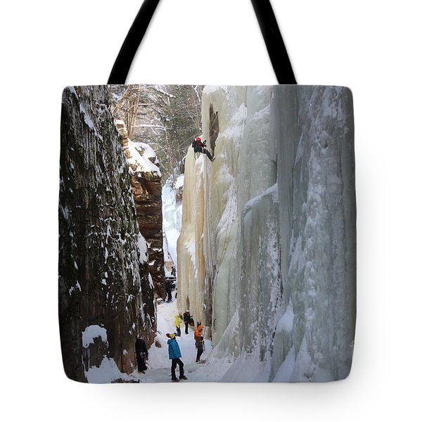 The Flume Gorge Nh Tote Bag