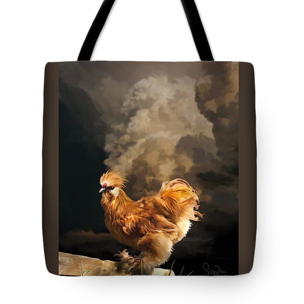 7. Thunder Buff Tote Bag
