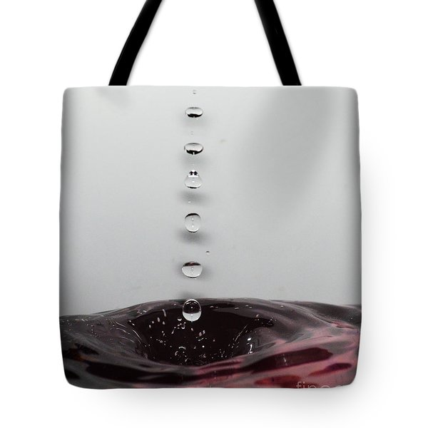 7 Water Drops Tote Bag