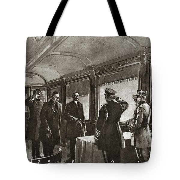 World War I Armistice Tote Bag
