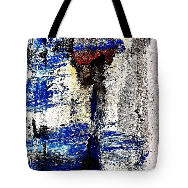 Abstract Post 5 Tote Bag by Jason Michael Roust