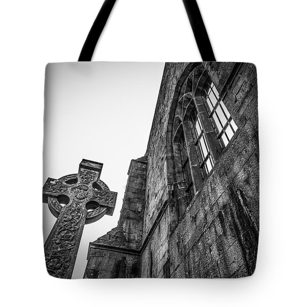 700 Years Of Irish History At Quin Abbey Tote Bag