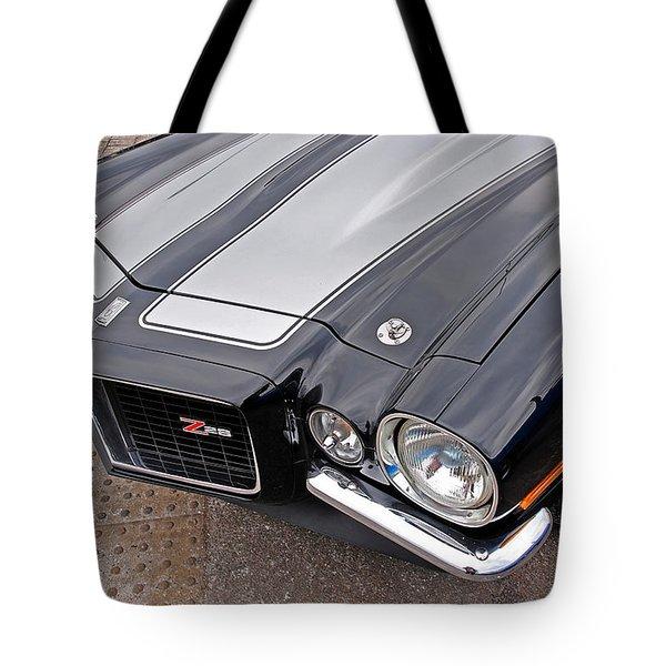 71 Camaro Z28 Tote Bag