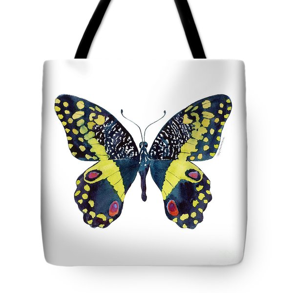 73 Citrus Butterfly Tote Bag