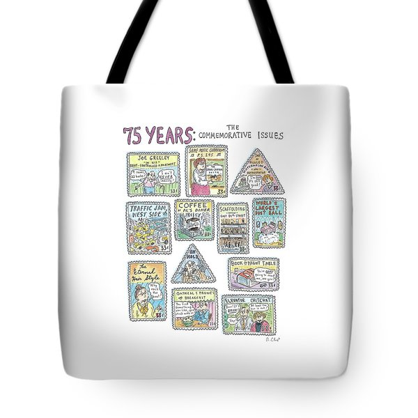 '75 Years:  The Commemorative Issues' Tote Bag