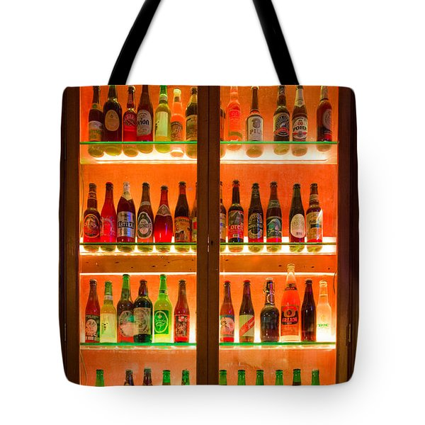 76 Bottles Of Beer Tote Bag by Semmick Photo