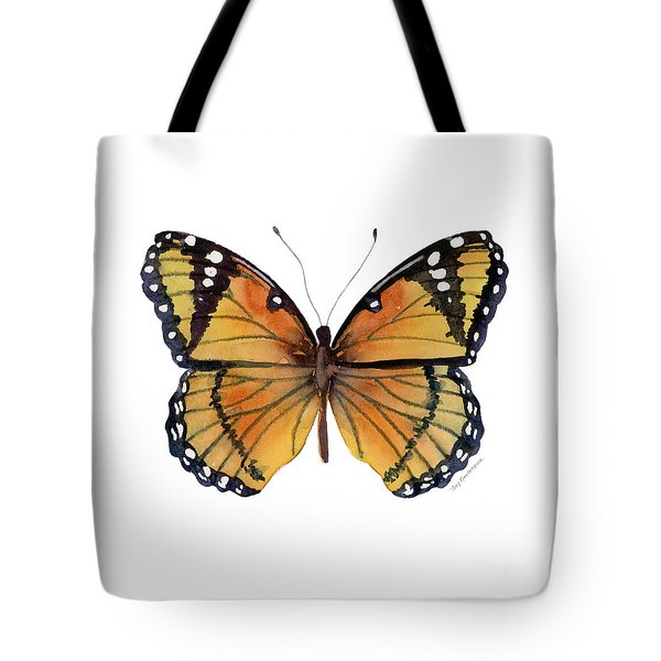 76 Viceroy Butterfly Tote Bag