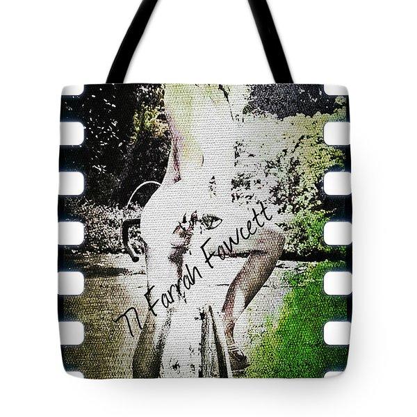 '77 Farrah Fawcett Tote Bag