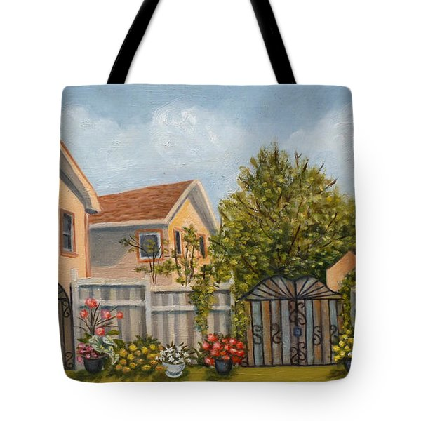 79th Street And 156th Avenue Howard Beach Tote Bag