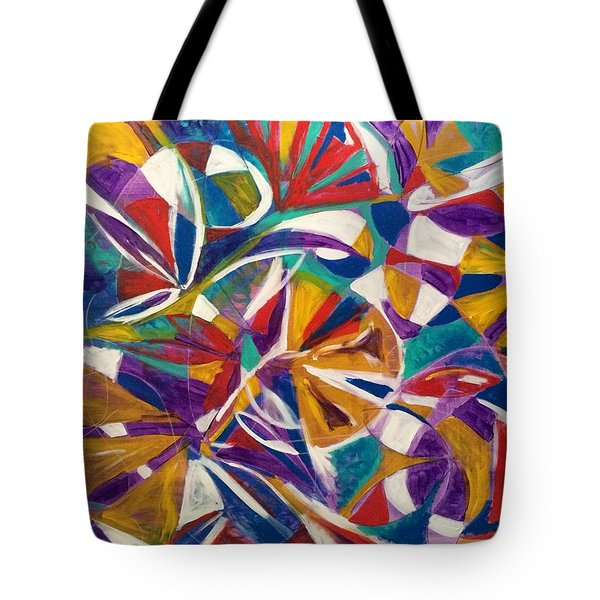 7th Chakra Meditation Tote Bag