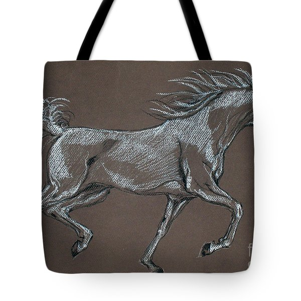 Arabian Horse  Tote Bag by Angel  Tarantella