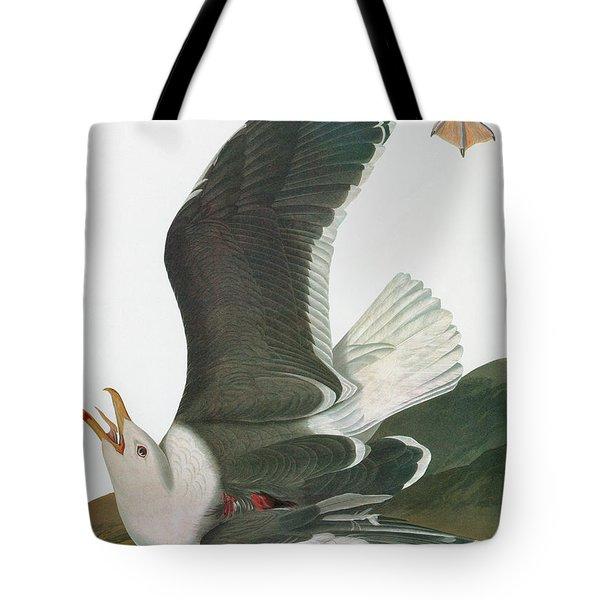 Audubon Gull Tote Bag