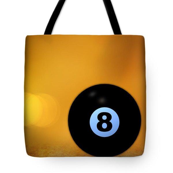 8 Ball Tote Bag by Bob Orsillo