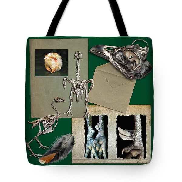 8. Chook Parts Tote Bag