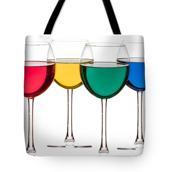 Colorful Drinks Tote Bag