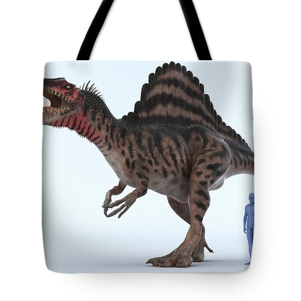 Dinosaur Spinosaurus Tote Bag