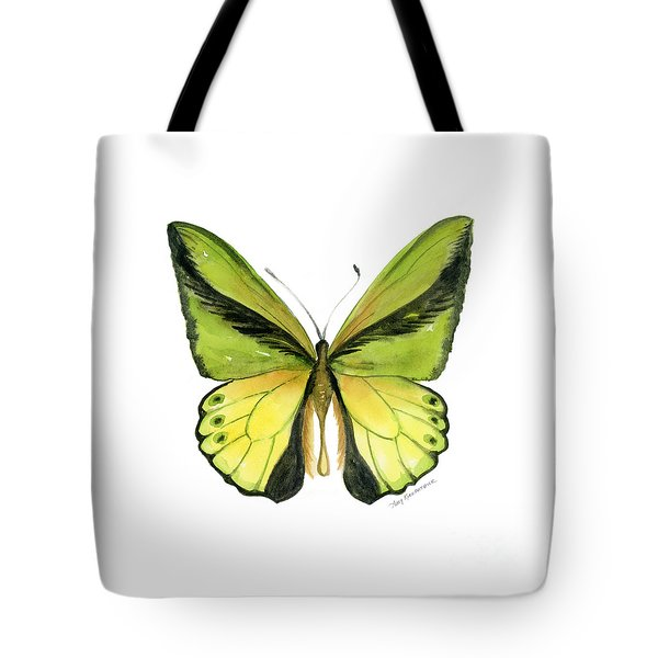 8 Goliath Birdwing Butterfly Tote Bag