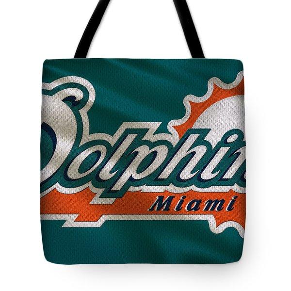Miami Dolphins Uniform Tote Bag