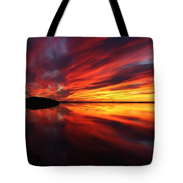Missisquoi Sunset Tote Bag