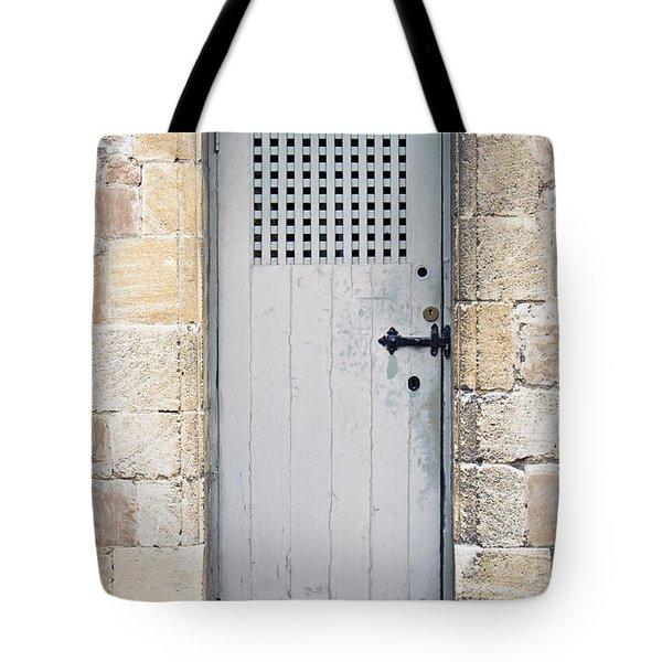 Old Door Tote Bag by Tom Gowanlock