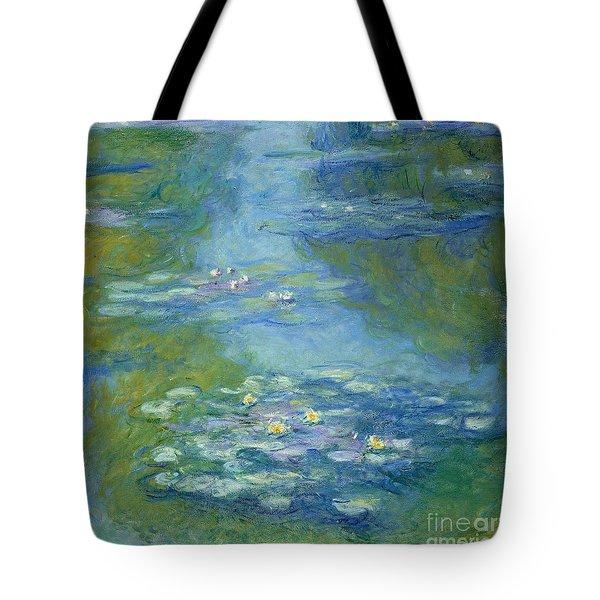 Waterlilies Tote Bag