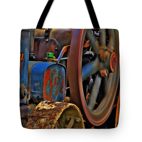 Wheels Of Time Tote Bag