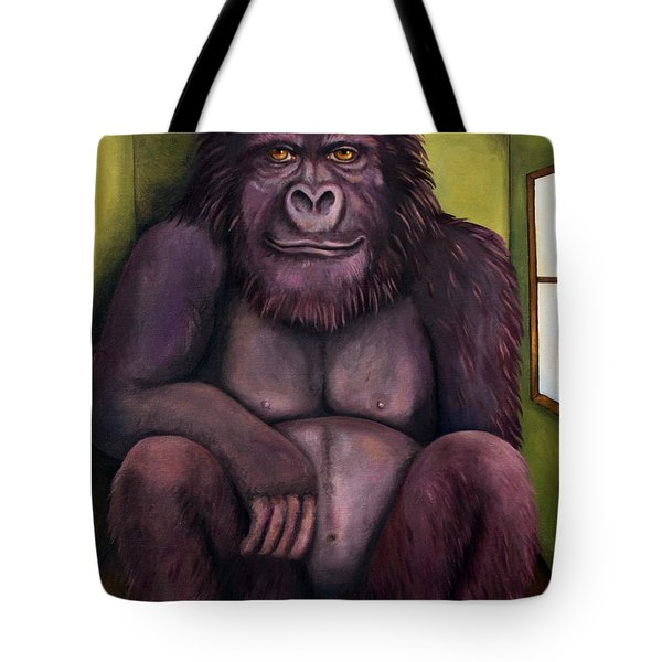 800 Pound Gorilla In The Room Edit 1 Tote Bag